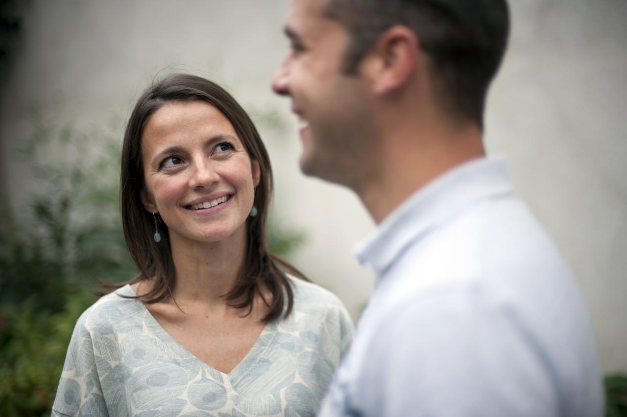 Foto em destaque: Anne-Dalphone e seu marido Loïc ©Patrick Gaillardin, para o jornal La Croix.
